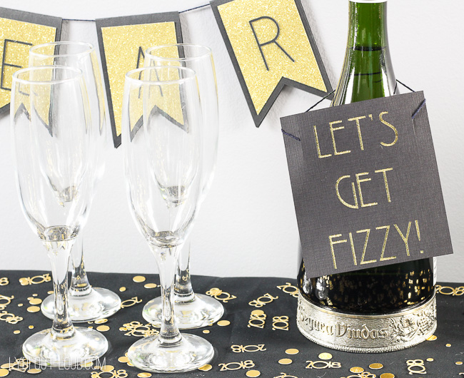 Resin Crafts Blog | DIY Decor | New Year's Eve | New Year's Party Ideas | DIY Party Decorations | New Years Ideas