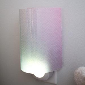 DIY Mermaid-Themed Resin Paper Nightlight Shade