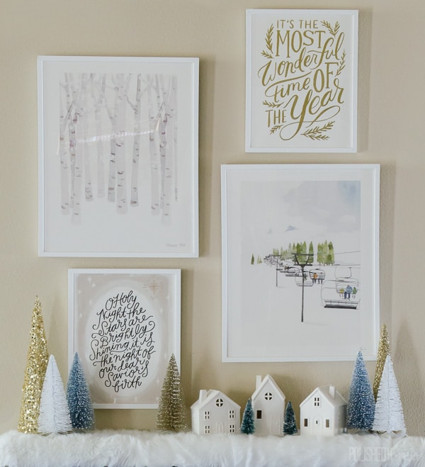 Beautiful Post-Holiday Winter Home Decor Ideas