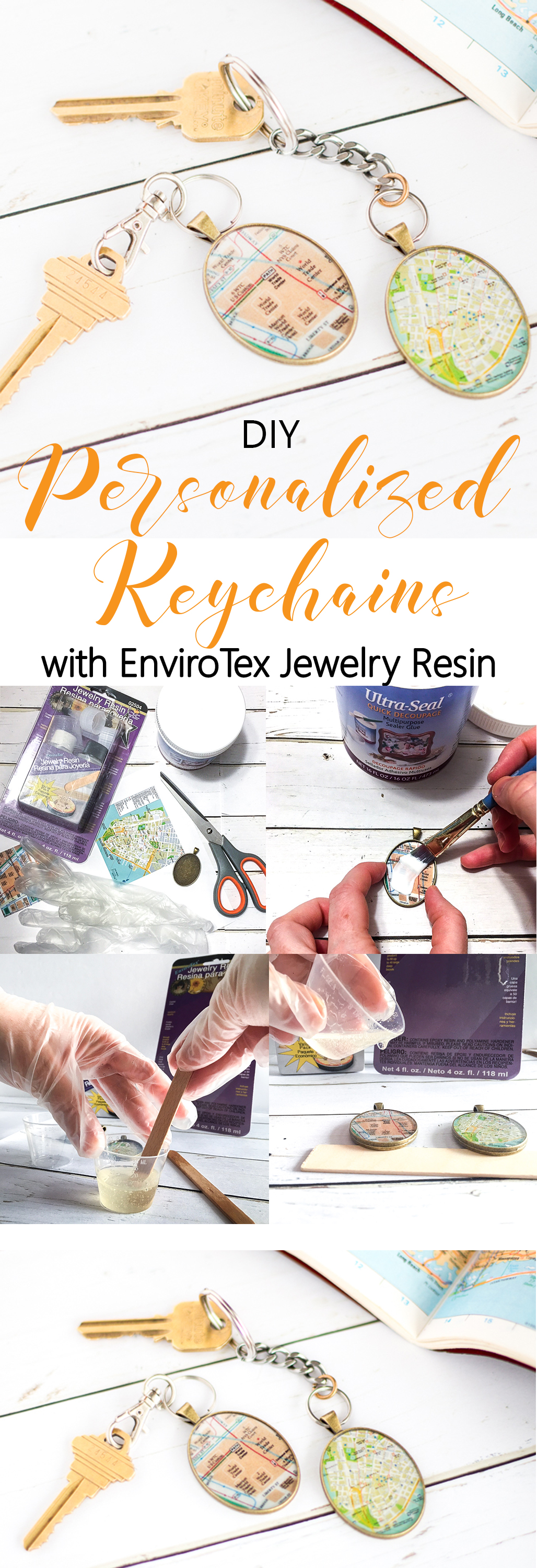 How to Make Personalized Keychains with EnviroTex Jewelry