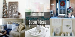 Beautiful Post-Holiday Winter Home Decor Ideas