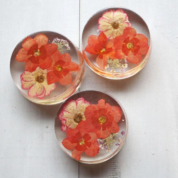 Pressed flower paperweight diy mightylinksfo