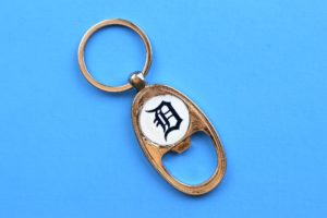 Personalized Key Chain Bottle Opener for Father's Day