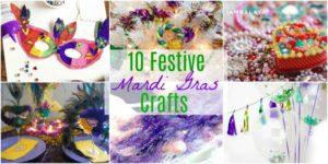 10 Festive Mardi Gras Crafts