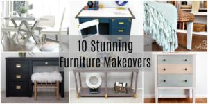 10 Stunning Furniture Makeovers