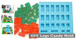 DIY Lego Candy Mold using EasyMold Silicone Rubber