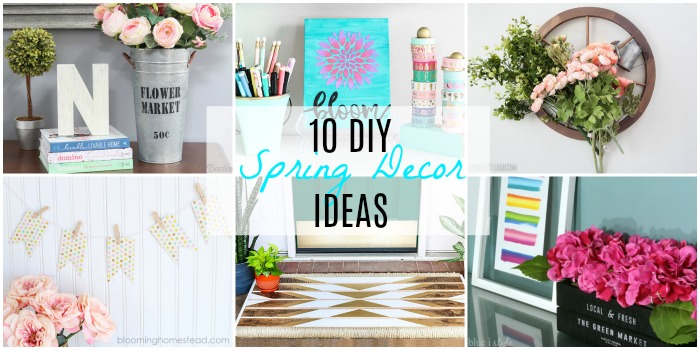 10 Diy Spring Decor Ideas Resin Crafts