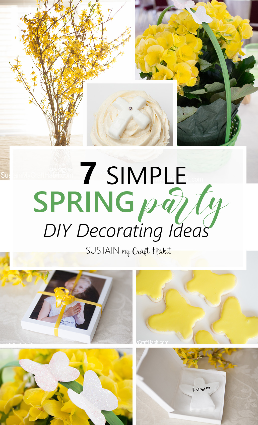 10 Creative Spring Party Ideas Resin Crafts