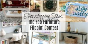 Showstopping Tops: The Fab Furniture Flippin' Contest