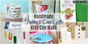Handmade Father's Day Gifts Kids Can Make
