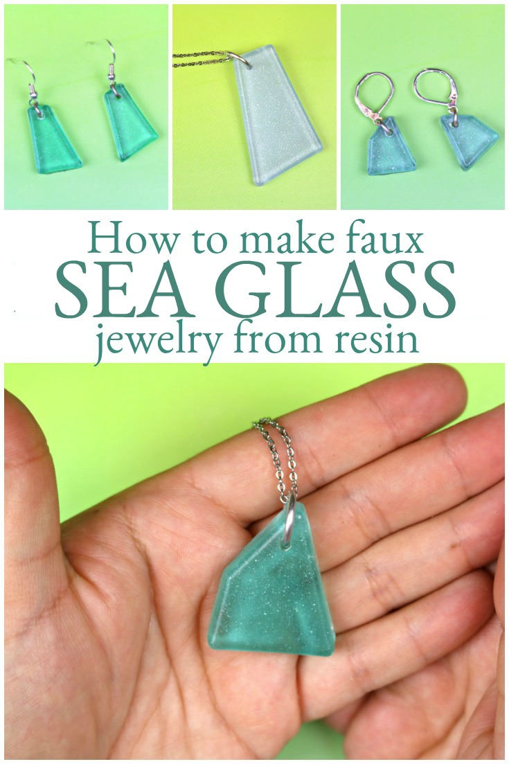 Sea glass inspired resin jewelry resin crafts sea glass jewelry save solutioingenieria Images