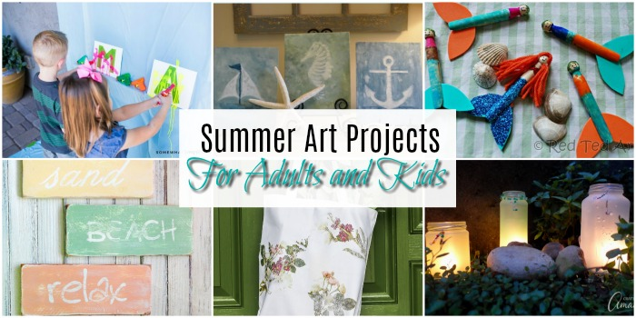 Fun Art Projects To Create This Summer Resin Crafts