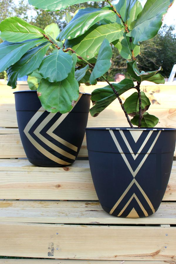Beautiful Diy Painted Planters Resin Crafts