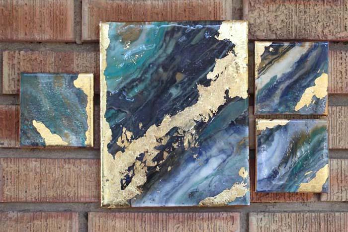 Foil Canvas Art Project