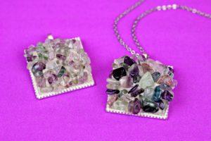 Gemstone Cluster Jewelry