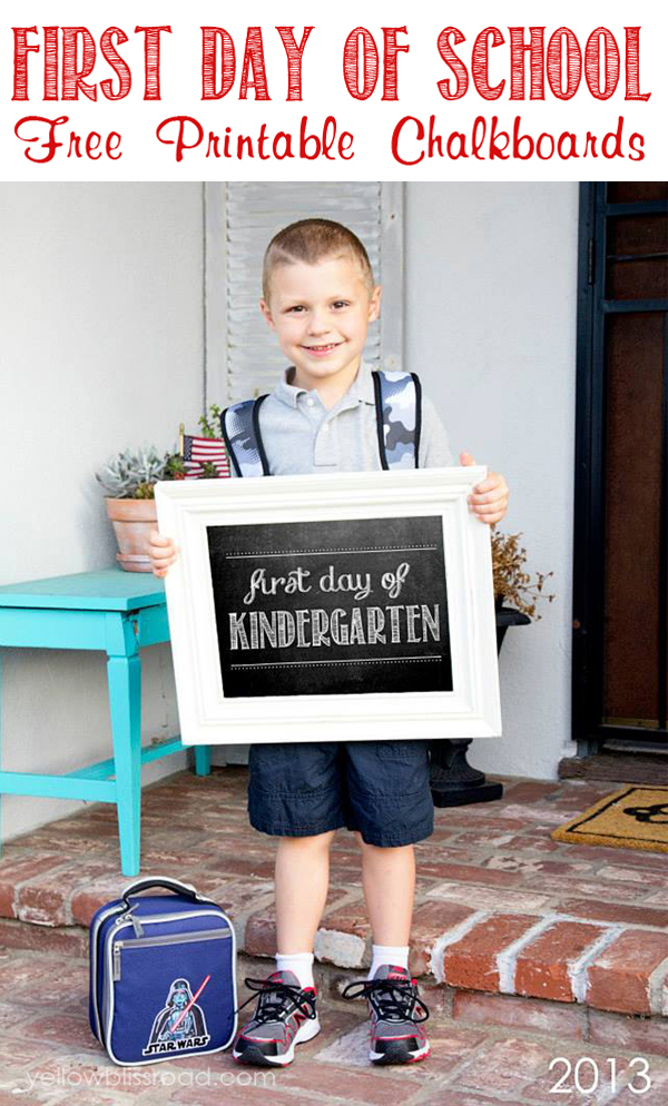 First-Day-of-School-Free-Chalkboard-Printables - Resin Crafts