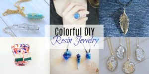Colorful DIY Resin Jewelry