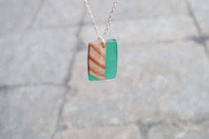 Wood and Resin Necklace Pendants Tutorial