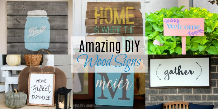 Amazing DIY Wood Signs