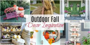 Outdoor Fall Decor Inspiration