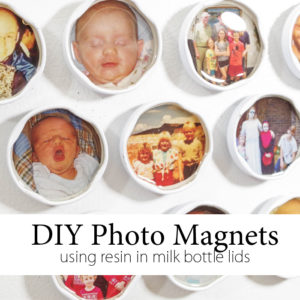DIY Photo Magnets using EasyCast Resin