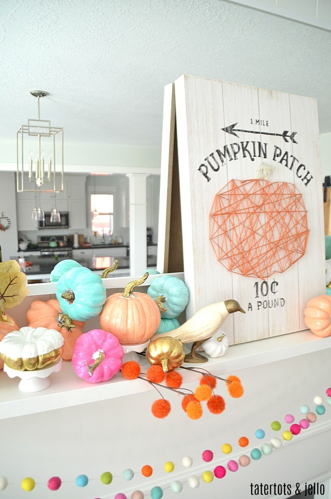 Resin Crafts Blog | DIY Decor | Fall Decor | Fall Pumpkins | Fall DIY | Painted Pumpkins |