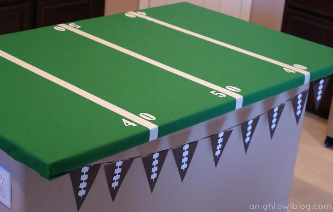 Resin Crafts Blog | Football Season | DIY Football | Football Party Ideas | Football Tailgating Ideas |