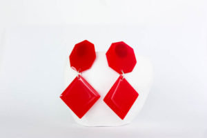 DIY Resin Statement Earrings