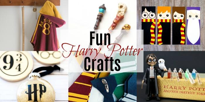 Fun Harry Potter Crafts