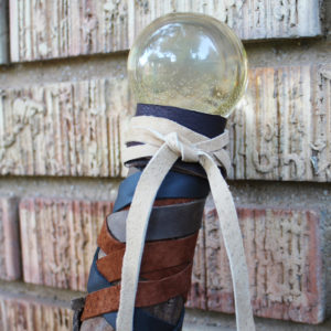 Resin Crystal Ball Wizard Staff DIY