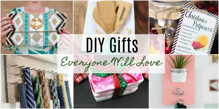 DIY Gifts Everyone Will Love