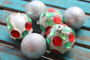 Jewelry Clay Jewel Christmas Tree Ornaments DIY