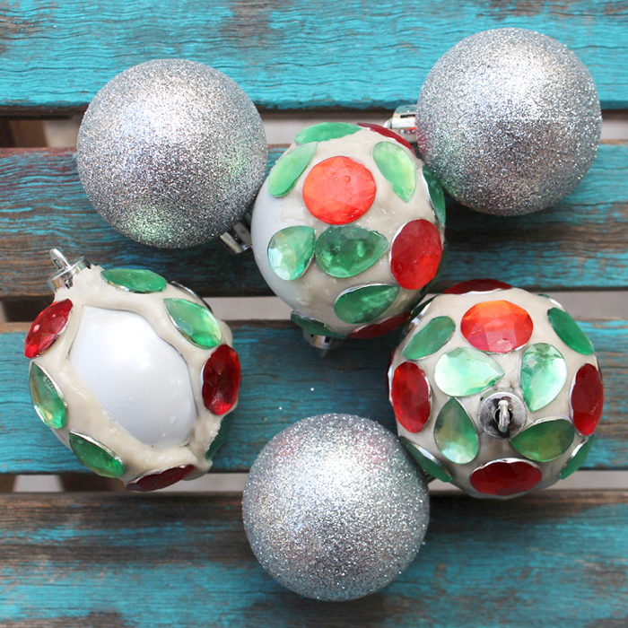 Jewelry Clay Jewel Christmas Tree Ornaments DIY - Resin Crafts