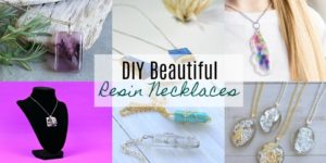 DIY Resin Necklaces