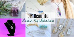 DIY Resin Necklaces