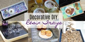 Decorative DIY Resin Trays