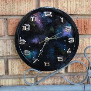 Resin Galaxy Constellation Clock DIY