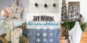 DIY Winter Decor Ideas
