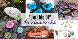 Adorable DIY Painted Rocks