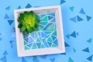 Make Mosaic Pieces from Resin