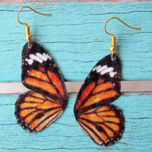 Butterfly Wing Resin Earrings DIY