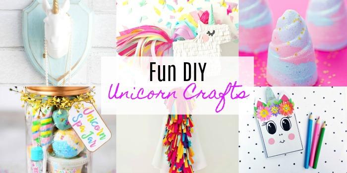 Fun Diy Unicorn Crafts Resin Crafts