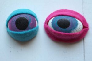 Resin Eyes Tutorial for Dolls, Puppets, Monsters, Dragons or Bag Flair