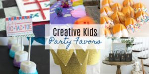 Creative Kids Party Favors