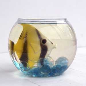 Fishbowl Centerpiece Made with Resin DIY