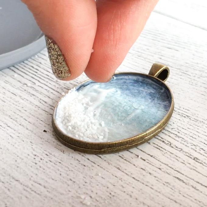 Diy Seashore Resin Jewelry Resin Crafts