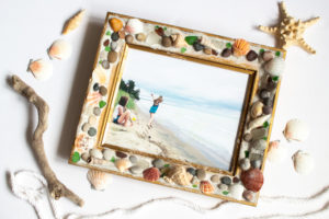Beach-Themed Upcycled Photo Frame with EasySculpt