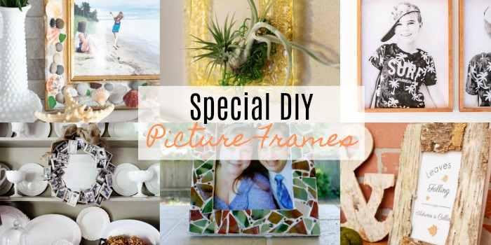 Special DIY Picture Frames