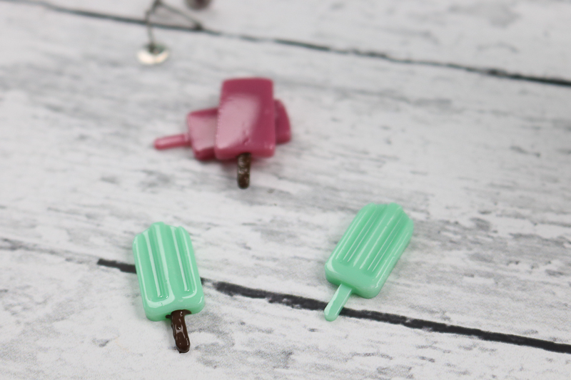 diy popsicle earrings