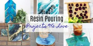 Paint and Resin Pouring Projects We Love